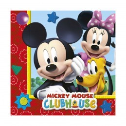 Set 20 servetele Clubul lui Mickey Mouse