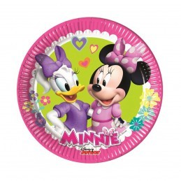 Set 8 farfurii Clubul lui Minnie Mouse 20 cm