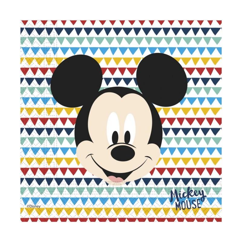 Set 20 servetele Cool Mickey Mouse