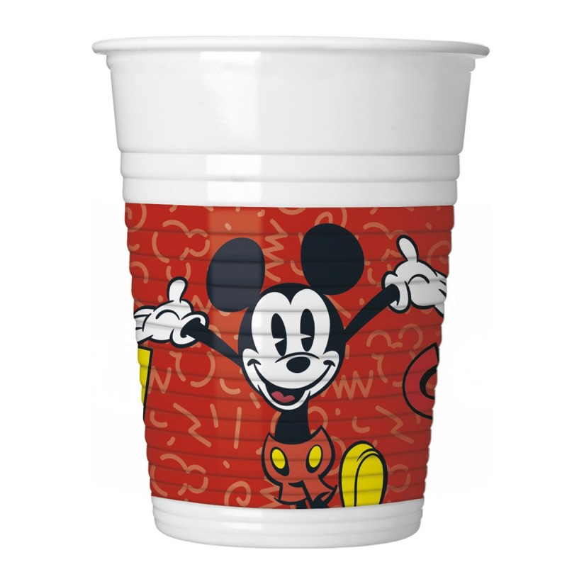Set 8 pahare Cool Mickey Mouse