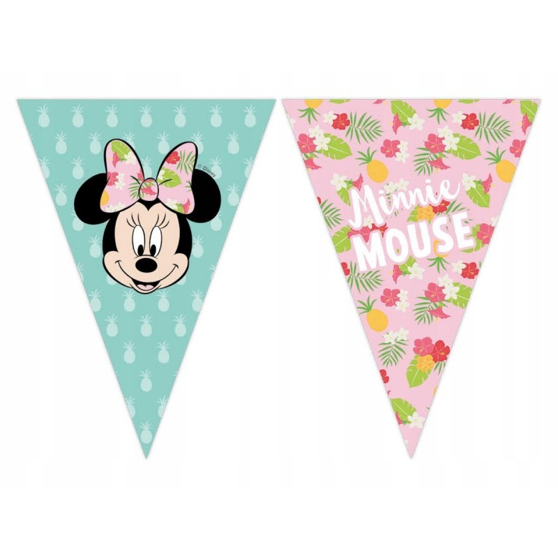 Banner Stegulete Minnie Mouse Tropical 2.3m