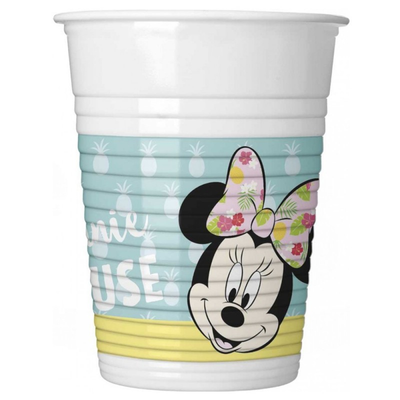 Set 8 pahare Minnie Mouse Tropical