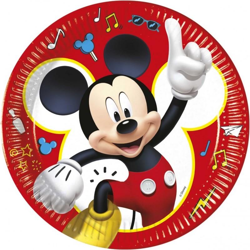Set 8 farfurii Mickey Mouse Play 23 cm