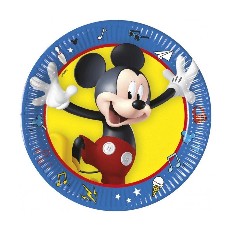 Set 8 farfurii Mickey Mouse Play 20 cm