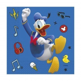 Set 20 servetele Donald Duck Play