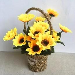 Buchet 7 Fire Floarea Soarelui 30cm