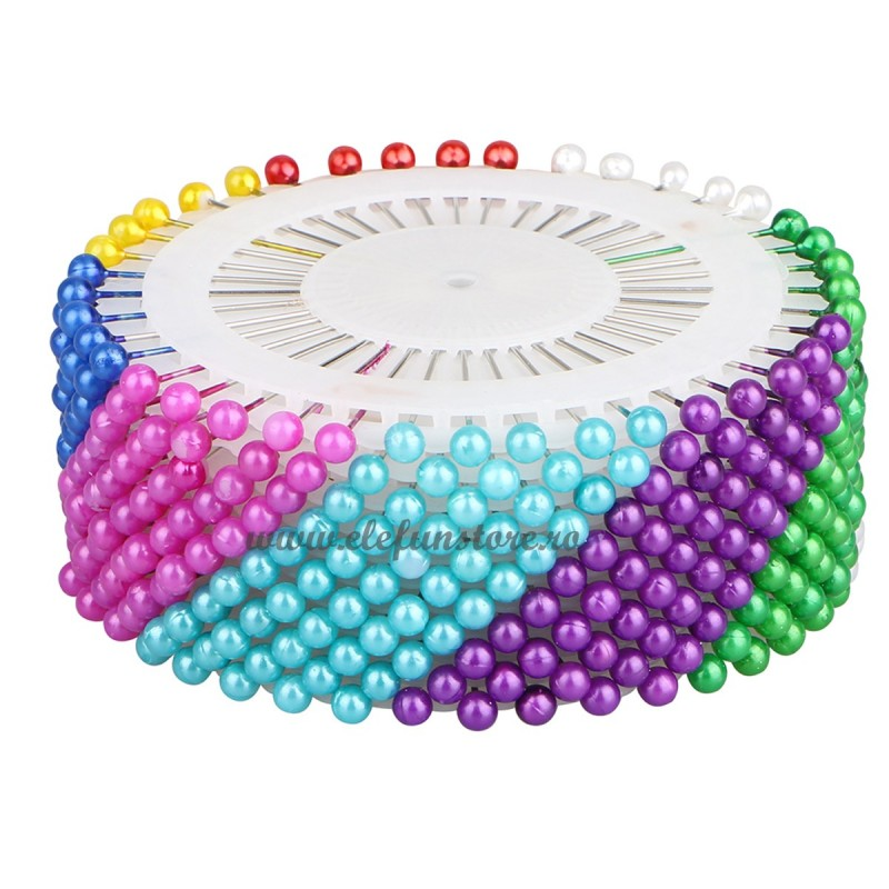 Set 480 ace cu perle multicolore 3 cm