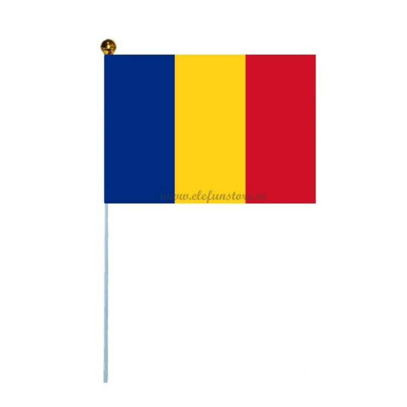 Mini Steag Romania 24*14cm