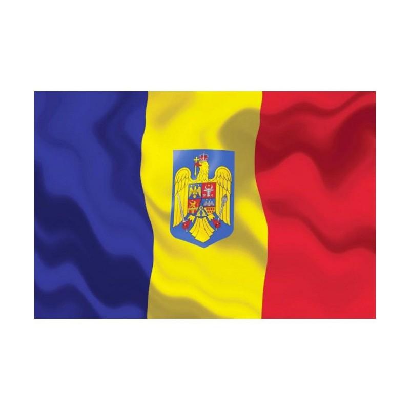 Drapel Romania cu Stema 155*90cm