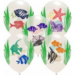 Set 10 baloane Ocean Life