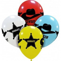 Set 10 baloane Vestul Salbatic