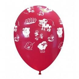 Set 10 baloane Animalute de Ferma