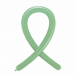Set 100 Baloane Modelaj Medium Verde Menta Pastel