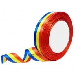 Panglica Satin Tricolor 2cm * 22m