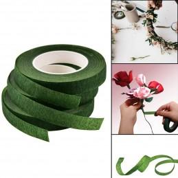 Banda adeziva verde pt flori 12mm * 25m