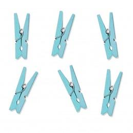 Set 50 Clestisori Bleu 2.5cm