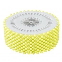 Set 480 ace cu perle galbene 3 cm
