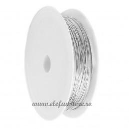 Sarma Modelaj Argintie 50m*0.37mm