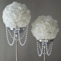 Rola sirag perle albe 17m