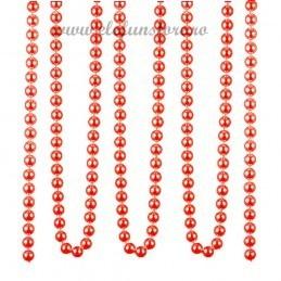 Rola sirag perle rosii 17m