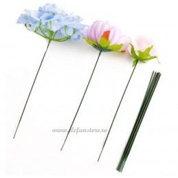 Set 20 tije din sarma pt flori 2mm * 35cm