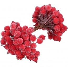 Set 40 Bobite Rosii Frosty Berry 15 cm