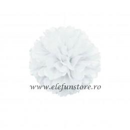 Floare Pom Pom Magenta 30 cm