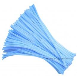 Set 100 Chenille - Sarma Plusata Bleu 30cm*5mm