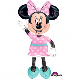 Balon Minnie Mouse AirWalker Anagram 137*96 cm