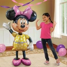 Balon Minnie Mouse AirWalker Anagram 137*96 cm