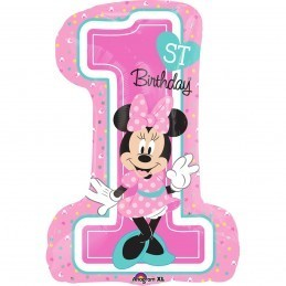 Balon Cifra 1 Minnie Mouse Anagram 71*48 cm