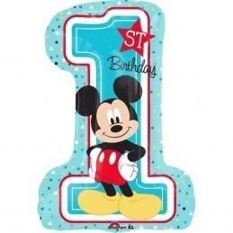 Balon Cifra 1 Mickey Mouse Anagram 71*48 cm