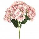 Buchet 5 hortensii roz 50 cm