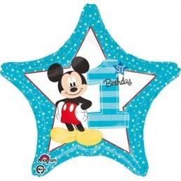 Balon Stea Cifra 1 Mickey Mouse Anagram 45 cm