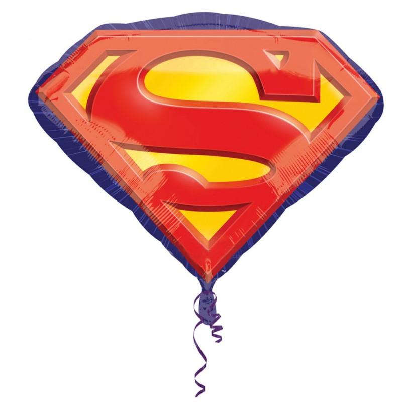 Balon Emblema Superman Anagram 66*50 cm
