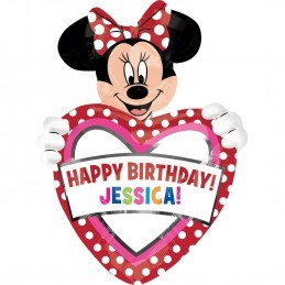 Balon Personalizabil Minnie Mouse Anagram 83*60 cm
