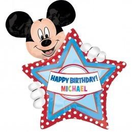 Balon Personalizabil Mickey Mouse Anagram 83*60 cm