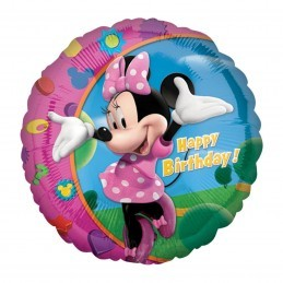 Balon Minnie Mouse Happy Birthday Anagram 45 cm