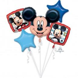 Buchet 5 Baloane Mickey Mouse Anagram