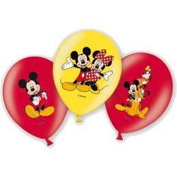 Set 6 Baloane Asortate Mickey Mouse Anagram 28 cm