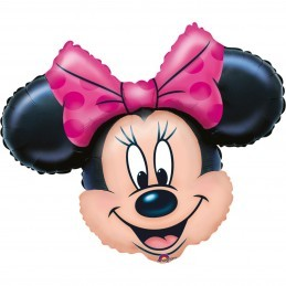Mini Balon Cap Minnie Mouse Anagram 30cm