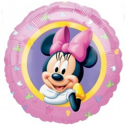Balon Rotund Minnie Mouse Anagram 45 cm