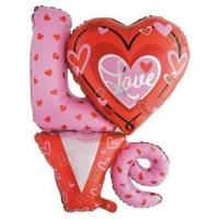 Baloane Folie Love