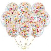 Baloane Latex cu Confetti