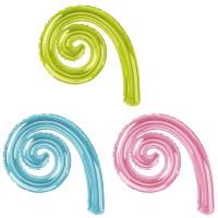 Baloane Forma Spirala Cârlionț