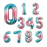 Baloane Cifre Degrade Slim 100 cm