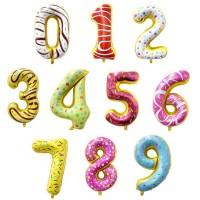 Baloane Cifre Candy Slim 80 cm